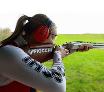womens clay shooting tuition