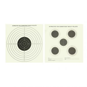 Double sided vermin targets x25 air gun