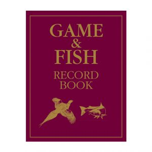 Game and Fish Record Book