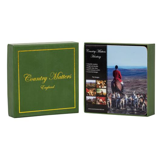 Hunting Coasters x6