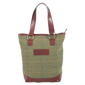 Ladies Tweed Tote Bag Landscape