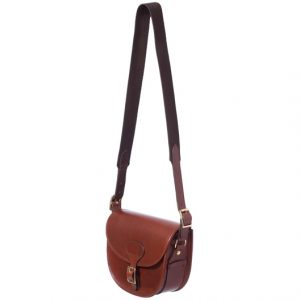 Leather Cartridge Bag Brown STD
