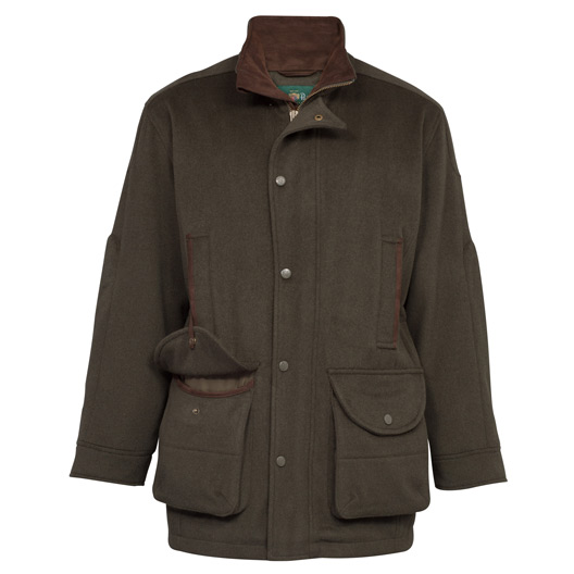 Loden Gents Waterproof Coat Olive