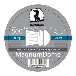 Magnum dome airgun pellets .22