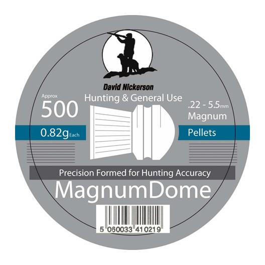 Magnum dome airgun pellets .22