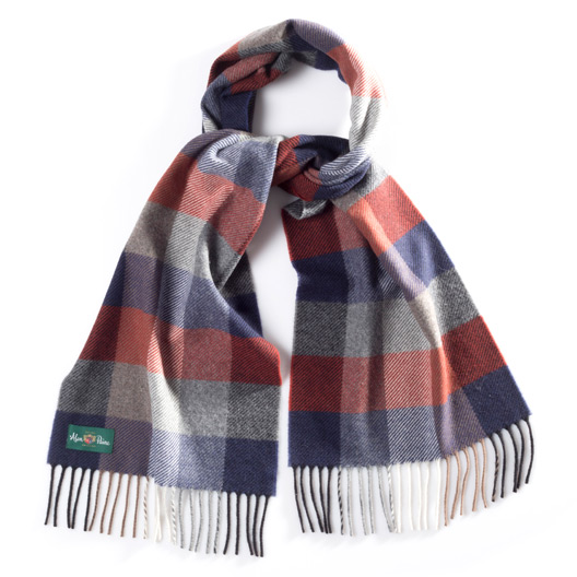 Multi Check Scarf 34