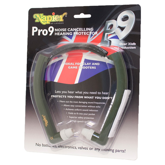 Napier Pro9 in ear protector