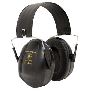 Peltor bullseye ear defenders black