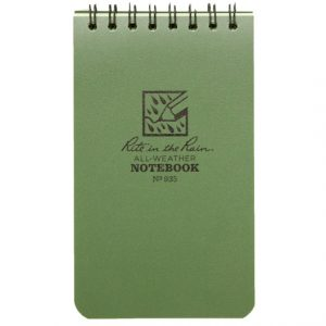 Shooting notebook Small