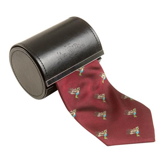 Silk Tie Bordeaux 41