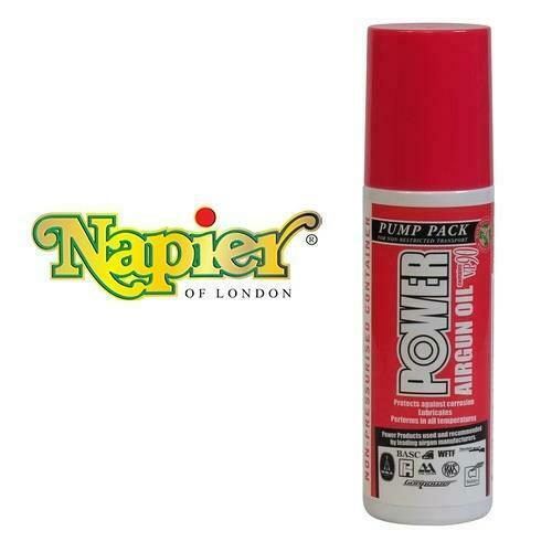 6055pp Power Airgun Oil 120ml Pump Spray by Napier